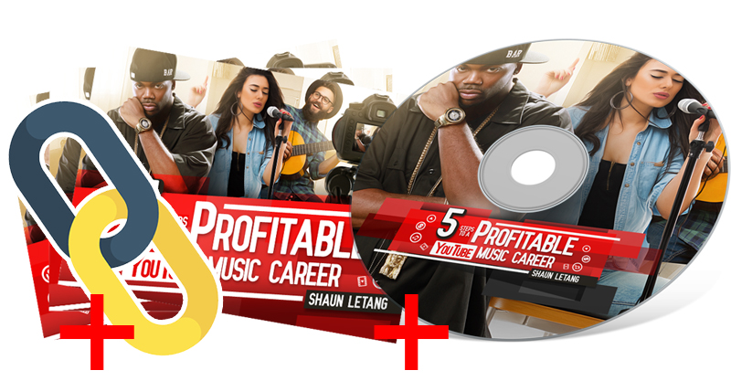 Audiobook and ebook - 5 Steps To A Profitable Youtube Music Career Pro Bundle